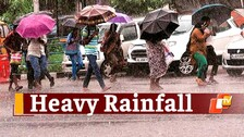 MeT Issues Red Warning For Several Odisha Districts, Heavy Rainfall To Pound For 3 Days