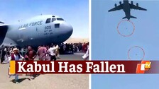 Kabul Airport Visuals Are Horrifying As Afghanistan Falls Into Taliban Hands