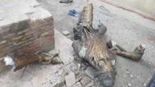 Maharaja Ranjit Singh's Statue Vandalised Once Again In Pakistan