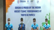 Hockey Olympians Given Grand Welcome In Odisha, Felicitated By CM Naveen