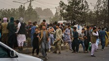 At Least 40 People Died In Kabul Airport Shooting & Stampede Since Monday