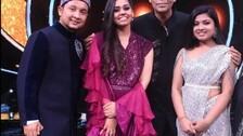 Indian Idol 12's Pawandeep Rajan, Arunita Kanjilal, Shanmukha Priya Indulge In Jam Session #Watch