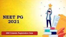 NEET PG 2021: NBE Extends Registration Date, Check Details