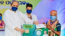 Odisha CM Naveen Patnaik Rolls Out BSKY Smart Card In Malkangiri
