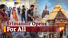Puri Srimandir Reopens For All With Strict Adherence To Covid-19 Guidelines