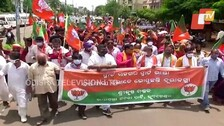 Unsmart Roads, Clogged Drains In Smart City Bhubaneswar: BJP Targets Odisha Govt