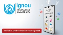 IGNOU Releases Guidelines For 'Innovative App Development Challenge 2021'
