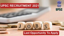 UPSC Recruitment 2021: Last Opportunity To Apply For Over 300 Vacant Posts, Check Details