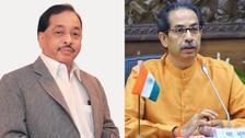 Protests Erupt Over Rane's 'Slap' Slur Against Uddhav Thackeray, Police Cane Protesters