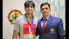 Ex-Coach Naik Has Last Laugh Over AFI As Golden Boy Neeraj Chopra Visits Residence
