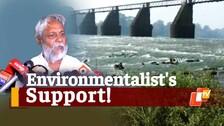 Noted Environmentalist, Rajendra Singh Joins 'Kharasrota Banchao' Movement In Odisha's Kendrapada