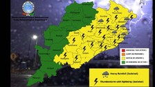 Heavy Rain In Odisha Till Aug 29; IMD Alert For Thunderstorm, Lightning In Next 24 Hrs