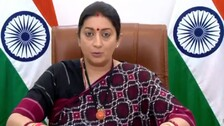 Smriti Irani Addresses 1st Ever G20 Ministerial Conference On Women's Empowerment