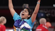 Table Tennis Player Bhavinaben Patel Scripts History, Storms Into Paralympics Final