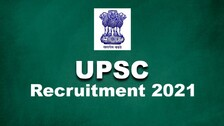 UPSC Recruitment 2021: Notification Out For Multiple Vacancies, Salary As Per 7th CPC