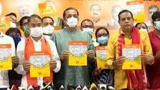 BJP Trains Guns On Odisha Govt, Releases Compiled Media Reports On BMC Failures