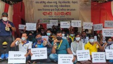 Odisha Para-Athletes Sit On Dharna, Demand Regular Govt Jobs On Par With Other Sportspersons