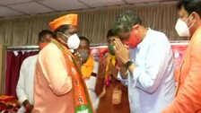 Odisha Panchayat Poll Countdown: Hundreds Of BJD, Congress Workers Join BJP In Kendrapada
