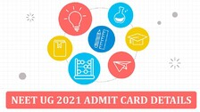 NEET UG 2021 Admit Card Announcement And Exam Details