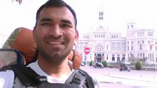 Indian Man Once Denied Visa By Pakistan Measures World On Foot In 3 Years