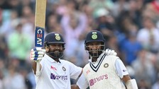 IND v ENG: Hit-Man Rohit Sharma Scores First Overseas Ton To Set Up An Engrossing 4th Day