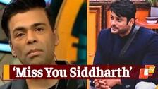 Bigg Boss OTT: Karan Johar Pays Tribute To Late Actor Sidharth Shukla