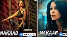 Esha Gupta And Mallika Sherawat Rock Nakaab's Promotion In Blue Ensemble; Deets About Web Series Inside
