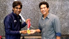 Rendezvous With Sachin: Childhood Dream Comes True For Paralympics Gold Medalist Pramod Bhagat