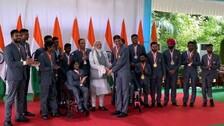 PM Modi Meets India's Paralympics Stars