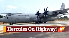 Watch IAF's Jet Land at Emergency Field Landing in Rajasthan's Jalore