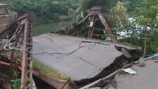 Bridge Collapses in Sambalpur, Driver Rescued After 10 Hour Operation