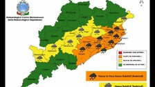 Low Pressure In 24 Hrs To Trigger Heavy To Very Heavy Rainfall In Odisha: IMD Issues Orange Warning
