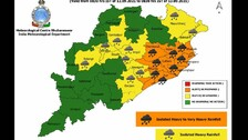 Low Pressure To Concentrate Into Depression; IMD Issues Heavy Rainfall Alert For Odisha