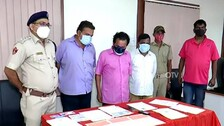 Gang Forging Property Documents For Loans Busted In Cuttack