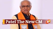 BJP Names Bhupendra Patel As Next CM Of Gujarat