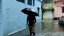 Heavy Rain Leaves Several Areas Waterlogged In Odisha, 100-YO British Era Building Collapses
