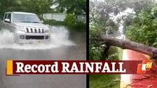 Bhubaneswar & Puri Break Rainfall Record, Red Warning Issued For Several Odisha Districts