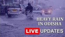 Odisha Rains Live Updates: 2 Die, Several Places Marooned Across State