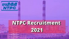 NTPC Recruitment 2021: Big Opportunity For ITI Pass Students, Salary Over Rs 21,000 Per Month