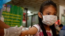 Cambodia Launches Covid Inoculation For Kids