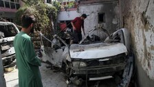 US Military Admits August Drone Strike In Kabul Killed 10 Civilians
