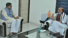 NCC Revamp: Chairperson Of High-Level Committee Jay Panda Calls On Defence Minister Rajnath Singh