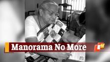 Odisha Bids Adieu To Litterateur, Journalist Manorama Mohapatra
