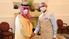 EAM Jaishankar, His Saudi Counterpart Discuss Developments