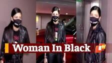 Watch: Shruti Haasan's Rock Chick-Look In Leather Jacket