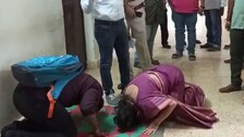 Senior District Medico Bows Down Before Junior To End Protest In Odisha Hospital