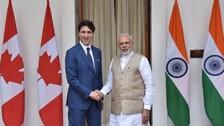 PM Modi Congratulates Justin Trudeau On Canada Election Win