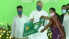 CM Naveen Patnaik Launches Rs 827 Cr Worth Welfare Projects In Bolangir, Visit Marked By Protests