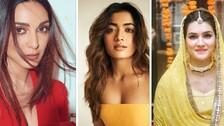 Rashmika Mandanna, Kriti Sanon, Kiara Advani: Bollywood Divas Who Rocked Sequin Sarees