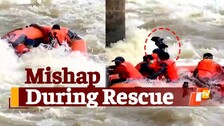 Boat Carrying Rescue Personnel & OTV Crew Capsizes During Tusker Rescue